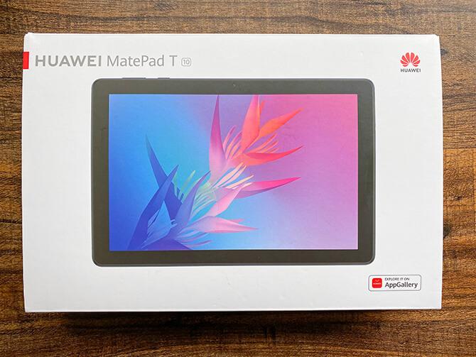 HUAWEI MatePad T10の実機レビュー